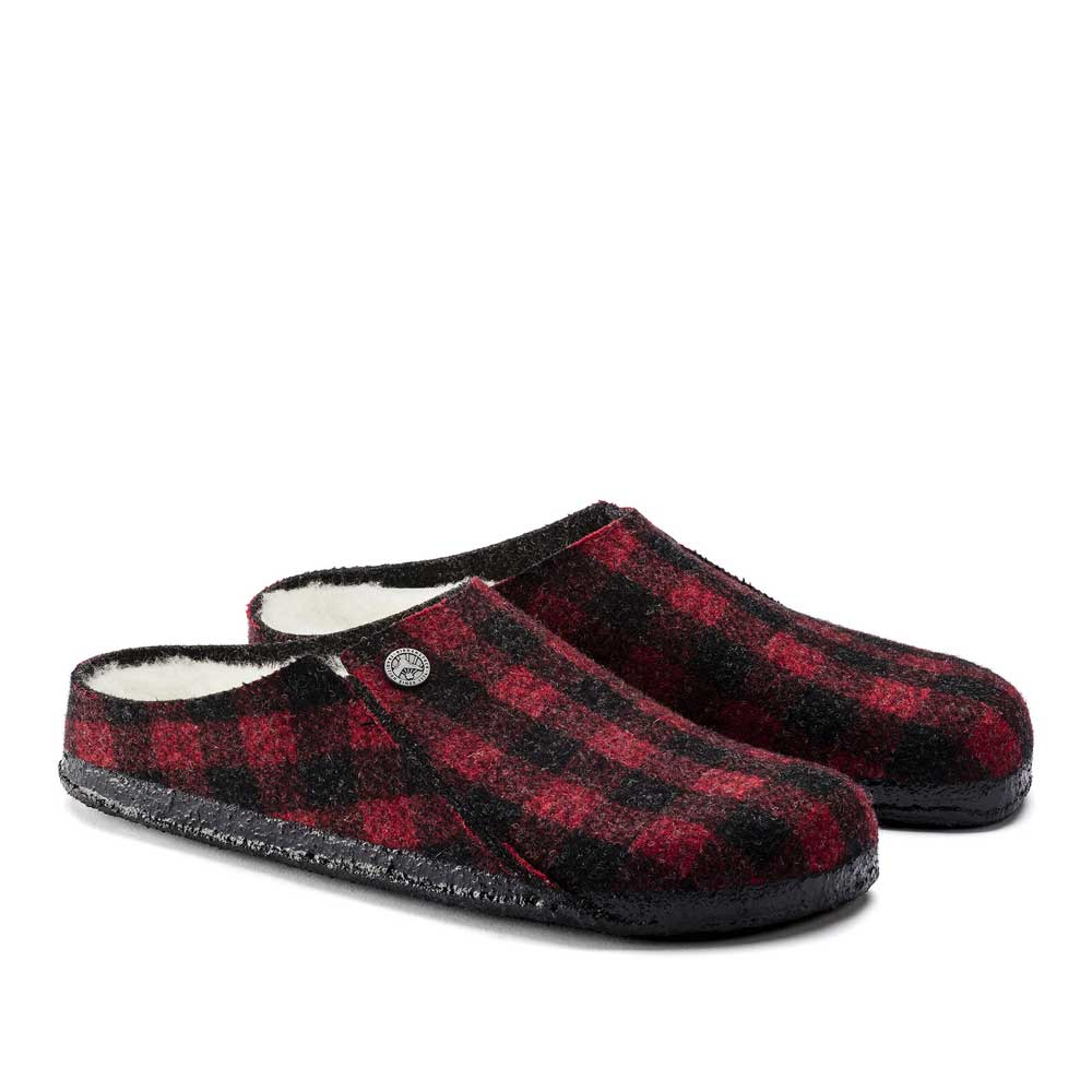 Birkenstock Women Zermatt Plaid Slipper