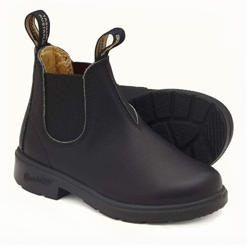 Blunnies 531 for kids in black leather.