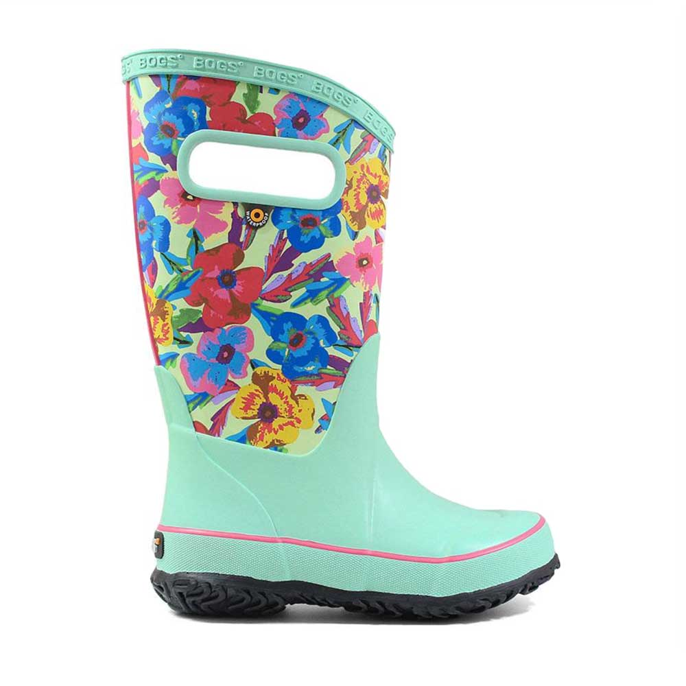 Bogs Rainboot Pansies