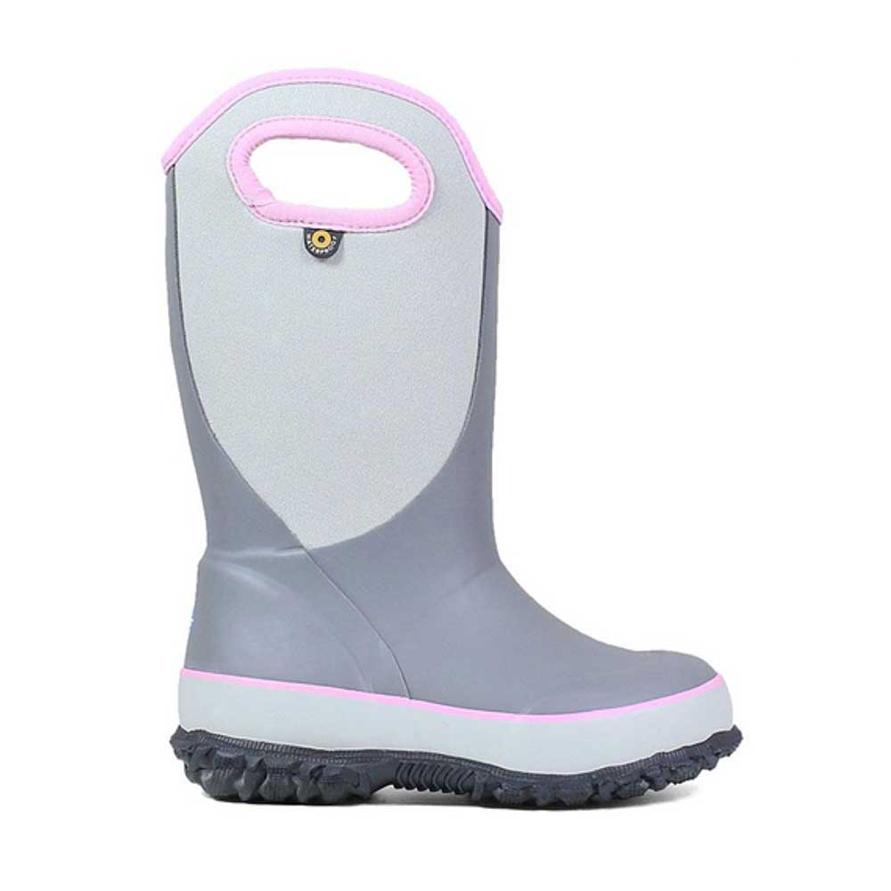 Bogs Slushie boot for kids in grey.