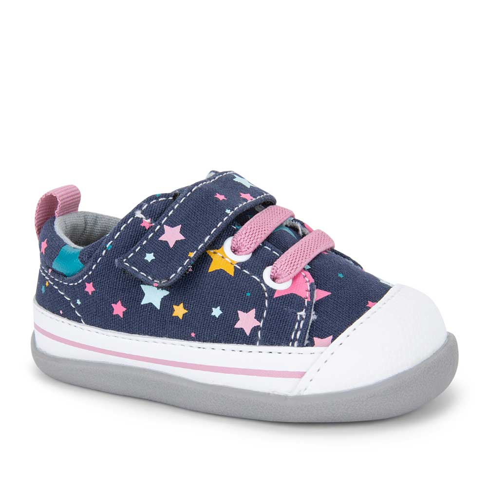 See Kai Run Stevie II - Navy Stars - Infant