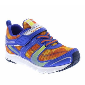 Tsukihoshi Velocity Youth Sneaker - Orange Camo