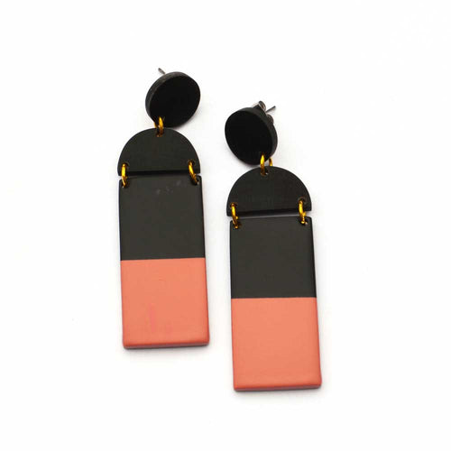 Sunshine Tienda Mini Bisque Mobile Earrings - Sole Food