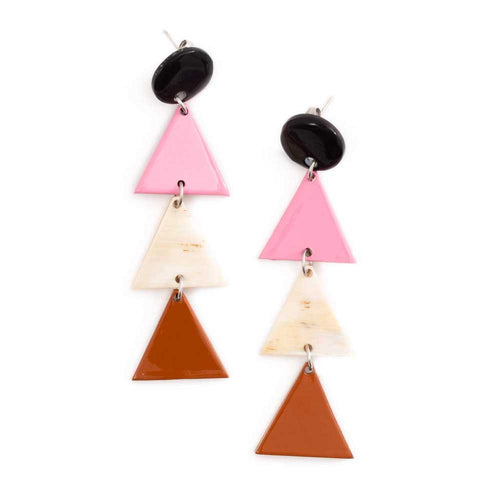 Sunshine Tienda Mini Point Earrings - Sole Food