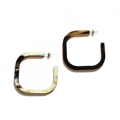 Sunshine Tienda Square Hoop Earrings - Sole Food