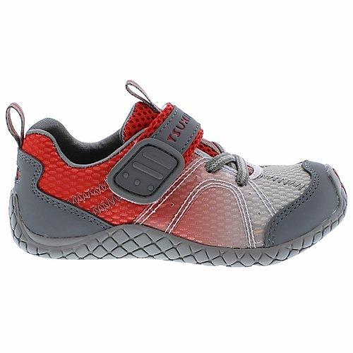 tsukihoshi marina sneaker in red for infants