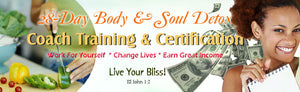 Detox Coach Certification (Scroll Down for EZ Pay Option)