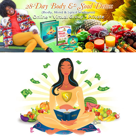 28-Day Body & Soul Detox (Full and 3 Part Pay)