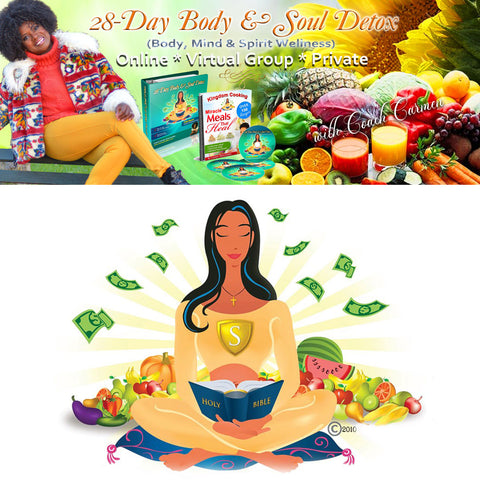 28-Day Body & Soul Detox PRIVATE GOLD ELITE (Full and 3 Part Pay)