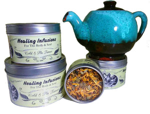 COLD & FLU TAMER Healing Infusions