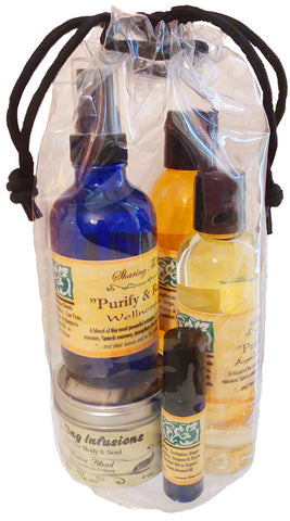 5 Pc. Purify & Recover Wellness Tote