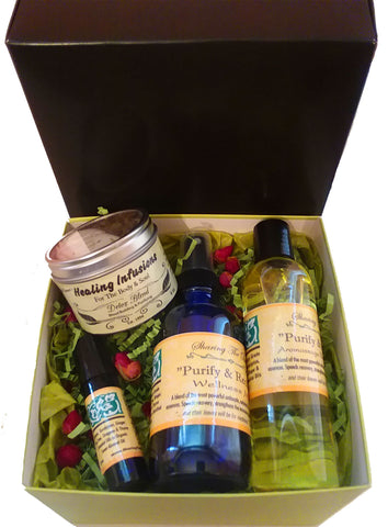 4 Pc. Bliss Box (Purify & Recover)
