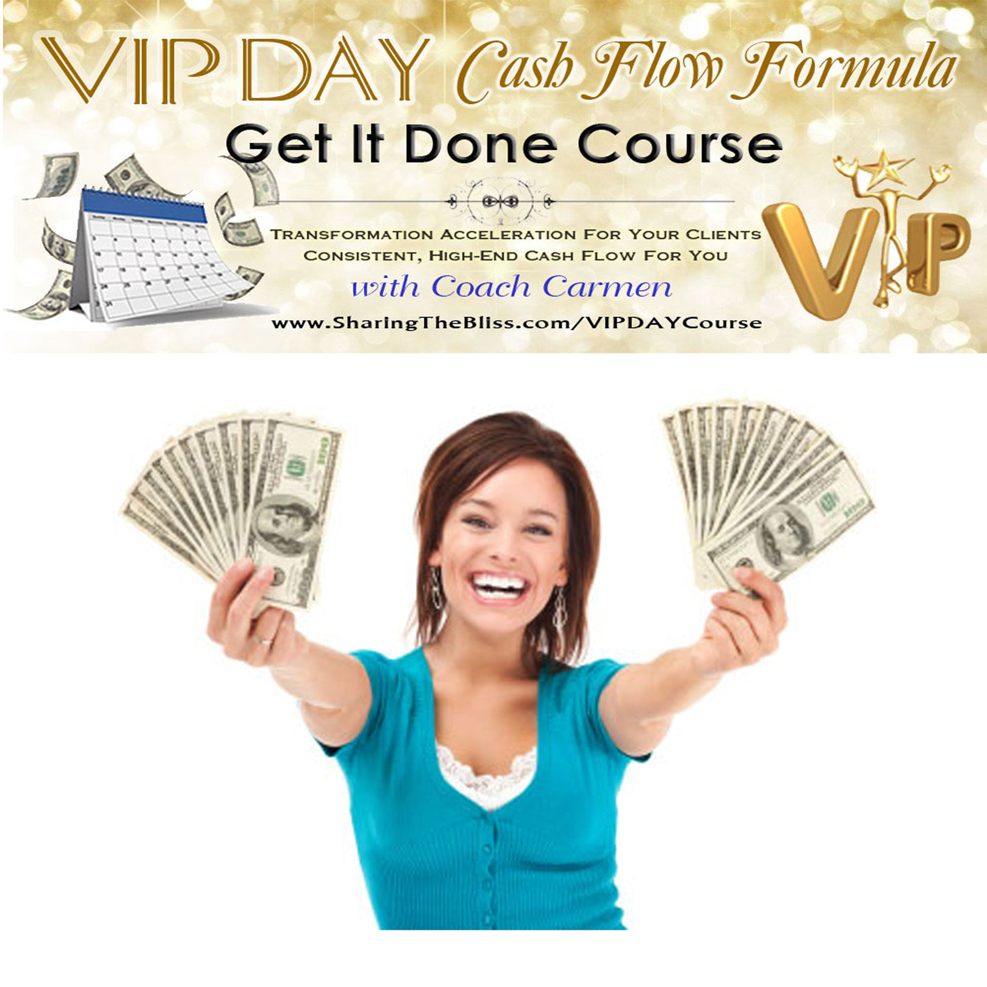 VIP DAY Cash Flow Formula Course (For Certified Detox Coaches)