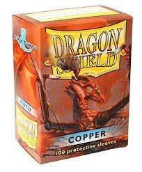 Dragon Shield - Card Sleeves - Copper (100)