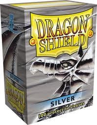 Dragon Shield - Card Sleeves - Silver (100)