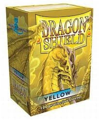 Dragon Shield - Card Sleeves - Yellow (100)