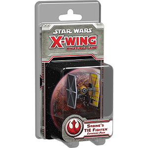 Star Wars - X-Wing Game - Sabine's TIE Fighter