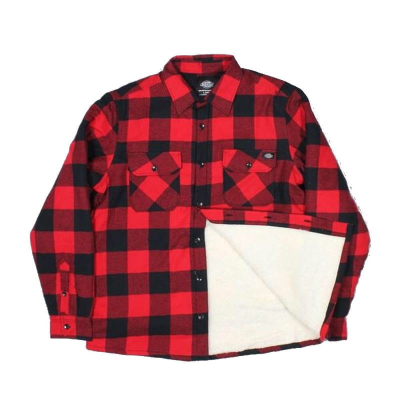 Dickies Lansdale Pine Red Shirt