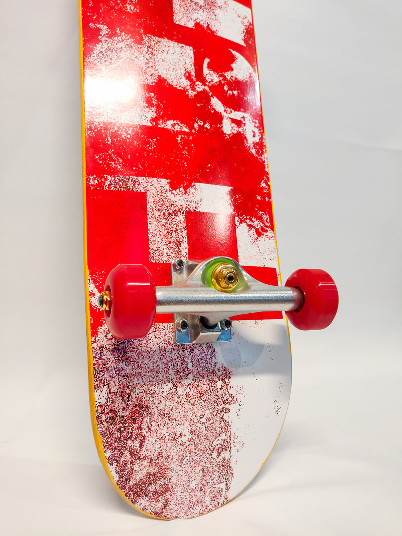 Flip - Team Distortion Red - 8.25""