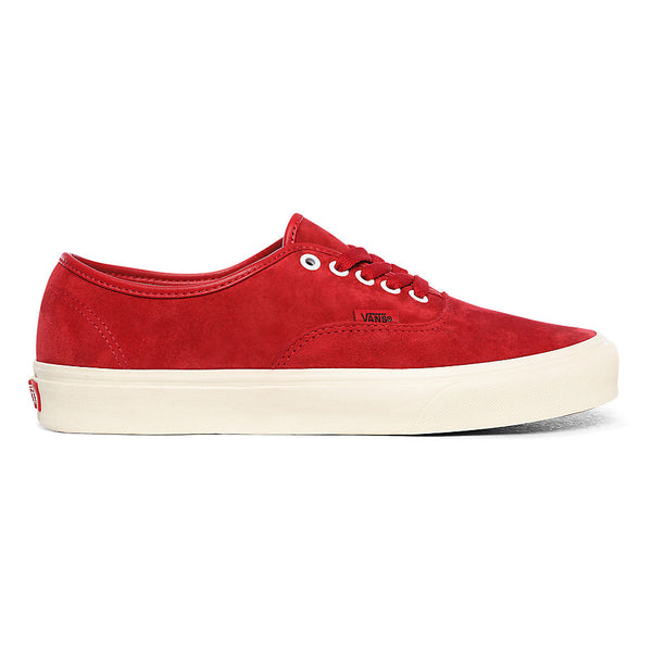 Vans Authentic Pig Suede Chili Pepper/True White