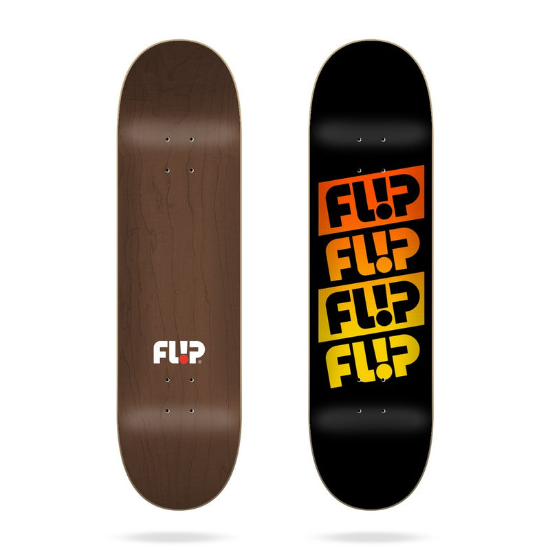 Flip - Team Quattro Faded Blacker 8.25״