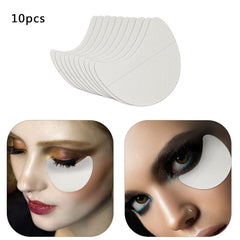 Hot Sale Women 10/20pcs Cotton Eyeshadow Shields Pad Beauty Eye Shadow Painting Auxiliary Makeup Stickers Makeup Tools - vendilos
