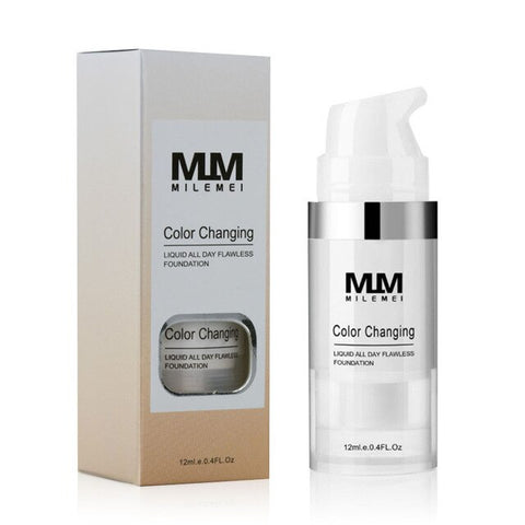 Color Changing Liquid Foundation Matte Long Lasting Makeup Coverage Naturally Concealer Oil-Control