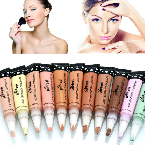 11 Colors Long-lasting Liquid Concealer Face Cream Waterproof Color Corrector Make Up Perfect