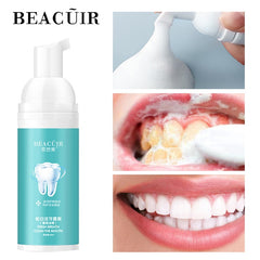 Tooth Cleaning Mousse Fresh Shining Toothpaste Teeth Whitening Remove Plaque Stains Bright Teeth Portable Dental Tool Care 60g - vendilos