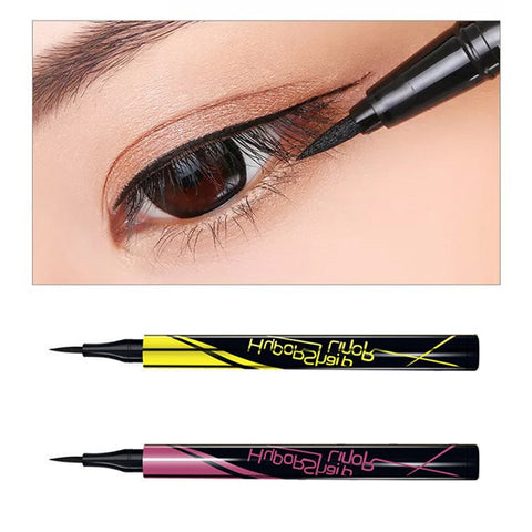 2 Color Eyeliner Waterproof Long Lasting Liquid Eye Liner Pencil Black Brown Pen Cosmetic Face Beauty Makeup
