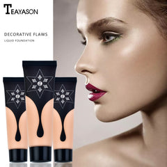 Matte Light Cream Long-lasting Liquid Face Foundation Makeup Coverage Foundation Natural Oil Control Concealer