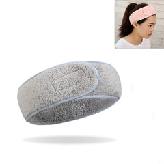 Women Bath Shower Cosmetic Hair Bands Wrap Adjustable Face Washing Makeup Headbands Turban Soft Toweling SPA Salon Accessories - vendilos
