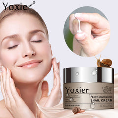 Cream Moisturizers Korean Cosmetics Secret Skin Care Snail Cream Hyaluronic Anti Aging Wrinkle