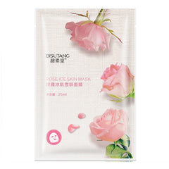 Moisturizing Face Mask Natural Aloe Vera Rose Green Tea Honey Orange Red Pomegranate Hydration Nourish
