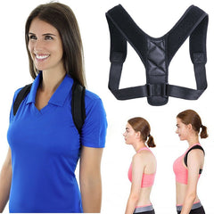 Brace Support Belt Adjustable Back Posture Corrector Clavicle Spine Back Shoulder Lumbar Posture Correction For Adult Unisex - vendilos