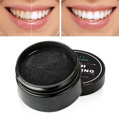 Charcoal Teeth Whitening Set Toothpaste Strong Formula Whitening Tooth Powder Toothbrush Oral Hygiene Cleaning - vendilos