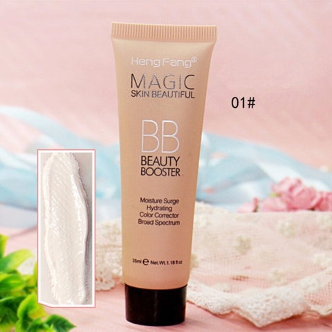BB Cream Face Care Foundation Base Long Lasting Waterproof BB CC Cream Makeup Concealer Cream Whitening Concealer