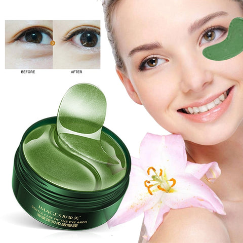 30 pairs /box Seaweed Eye Mask Nourishing Moisturizing