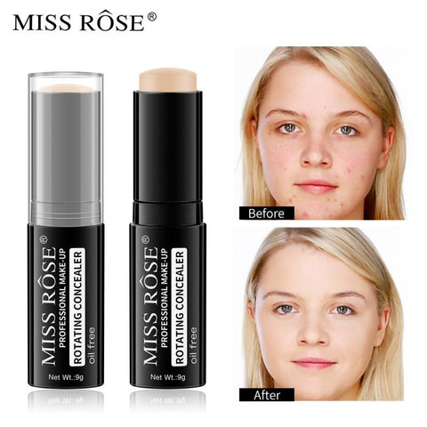 Face Body Concealer Cream Stick Full Cover Pore Acne Long Lasting Fresh Cosmetic 6 Colors