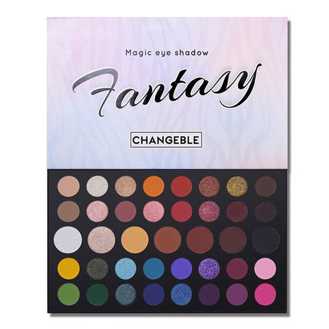 39 Color Eye Shadow Palette Professional High Gloss Matte Pearlescent Eyeshadow Palette