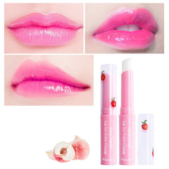 Peach Lip Balm Lipstick Warming Repair Moisturizing Enhancer Embellish Natural Organic Protect