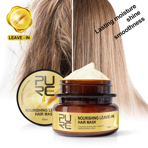 60ml Leave-In Hair Mask Magical Treatment Lasting Nourishing Moisture Deep Recovery