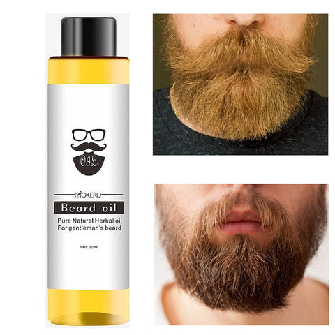 Smoothing Nutrition Moustache Beard Oil Natural Beard Growth Oil For Men Pro