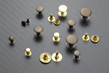 Load the image into the gallery viewer, hollow rivets single head 6-7-9-10-13 mm base material brass