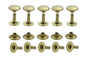 Hollow rivets single head 6-7-9-10-13 mm base material brass