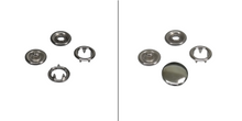Charger l'image dans la galerie, snap fasteners jersey in 7,8 mm, 9,5 mm or 10,5 mm
