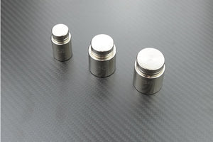 Button tools for covering buttons with fabric, can be used without a press