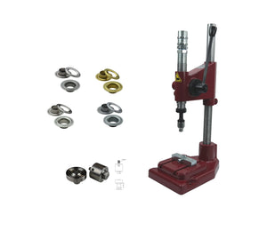 Starter package spring impact press with 250 eyelets