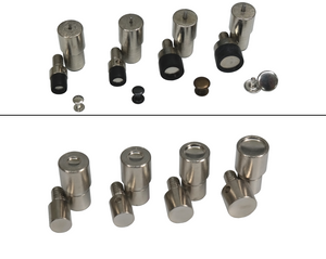 Hollow riveting tools 6mm, 7mm, 9mm, 10mm, 12mm or 13mm