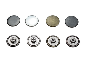 Jeans buttons, rustproof, non-sewing, 14mm, 17mm, 20mm, metal buttons, movable base